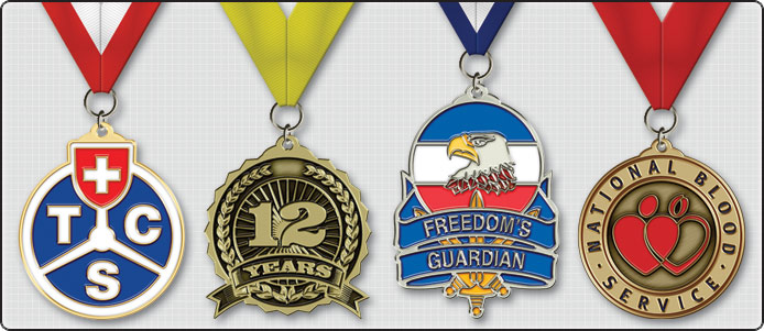 Samples of Award Medals