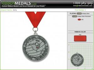 DeVry Award Medals
